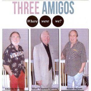 portada del disco Three Amigos
