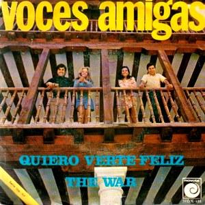 portada del disco Quiero Verte Feliz / The War
