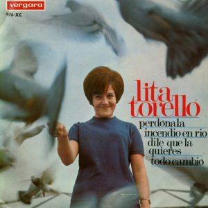 portada del disco Perdónala / Todo Cambió / Incendio en Río / Dile que La Quiero