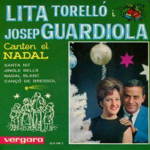 portada del disco Lita Torelló i Josep Guardiola Canten el Nadal
