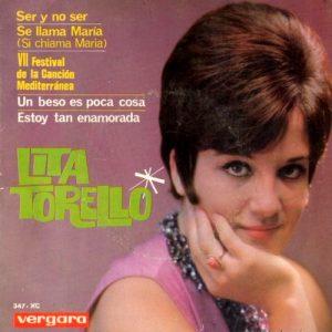 portada del disco Ser y no Ser / Se Llama María / Un Beso es Poca Cosa / Estoy tan Enamorada