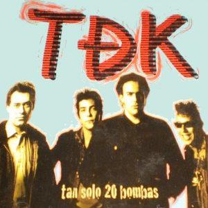 portada del disco Tan Sólo 20 Bombas
