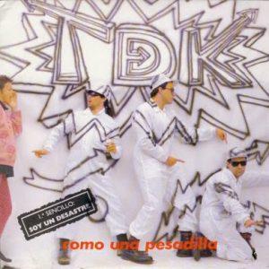 portada del disco Soy Un Desastre / Pesadilla (Instrumental)