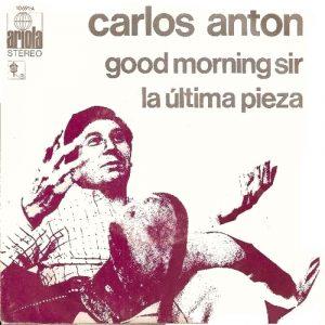 portada del disco Good Morning Sir / La Última Pieza