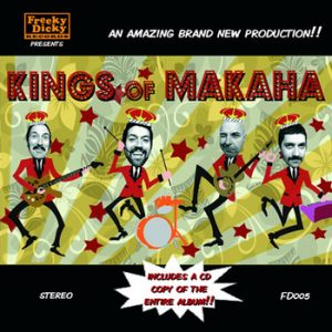 portada del disco Kings of Makaha