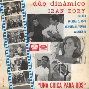 portada del disco Una Chica para Dos