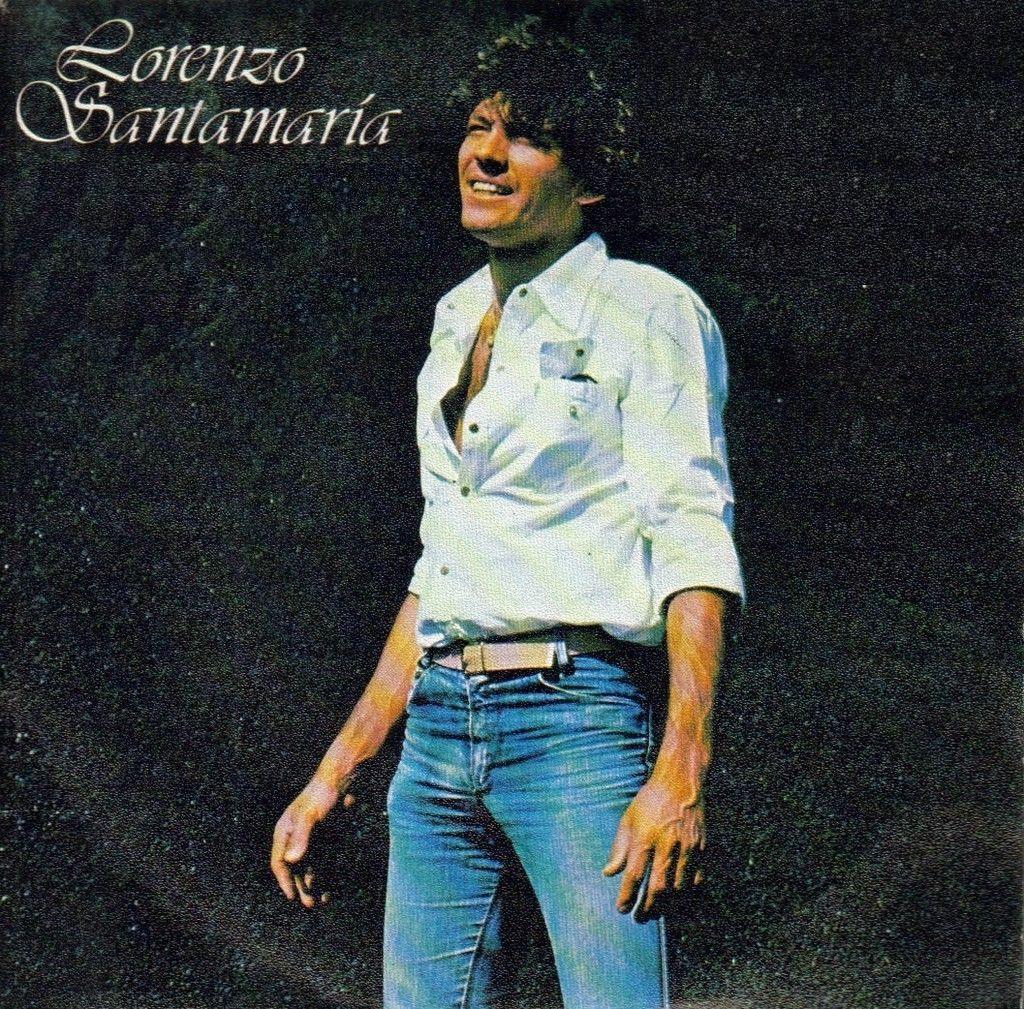 portada del disco Lorenzo Santamaría