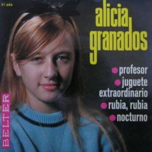 portada del disco Profesor / Juguete Extraordinario / Rubia, Rubia / Nocturno
