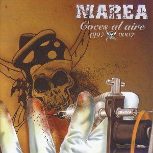 portada del disco Coces al Aire (1997-2007)