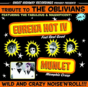 portada del disco Tribute To The Oblivians Vol.5