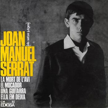 portada del disco Una Guitarra / Ella Em Deixa / La Mort de l'Avi / El Mocador