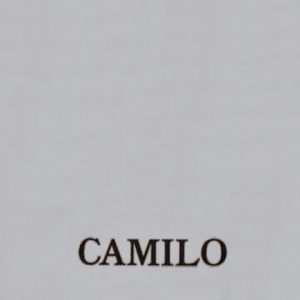 portada del disco Camilo