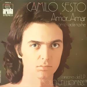 portada del disco Amor, Amar