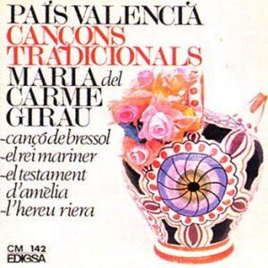 portada del disco País Valencià. Cançons Tradicionals