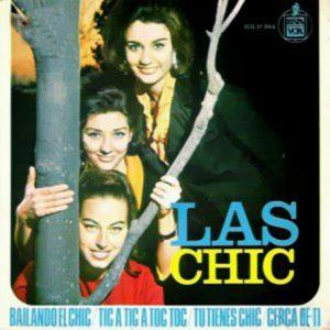 portada del disco Bailando el Chic / Tic a Tic a Toc Toc / Tú Tienes Chic / Cerca de Ti