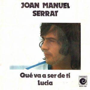 portada del disco Qué Va a Ser de Ti / Lucía
