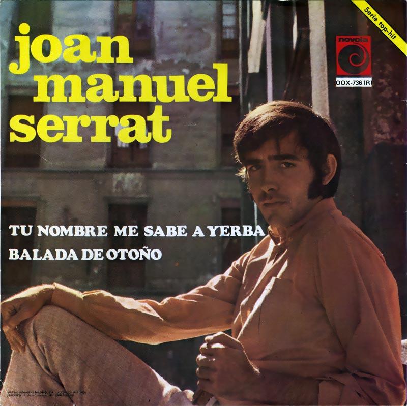 portada del disco Tu Nombre Me Sabe a Yerba / Balada de Otoño