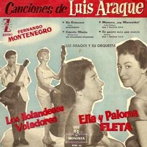 portada del disco Canciones de Luis Araque