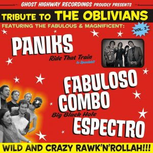 portada del disco Tribute To The Oblivians vol. 3