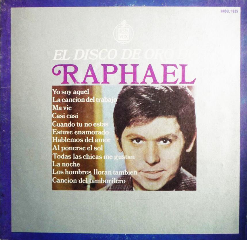 portada del disco El Disco de Oro de Raphael. Vol. 1