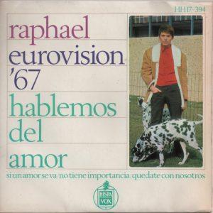portada del disco Eurovisión '67. Hablemos del Amor