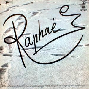 portada del disco Raphaël
