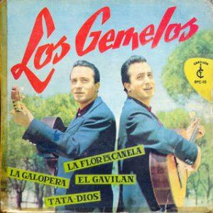 portada del disco La Flor de la Canela / La Galopera / Tata Dios / El Gavilán