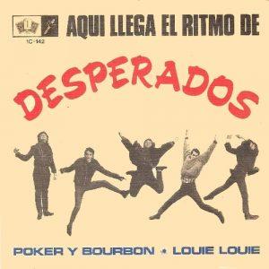 portada del disco Poker & Bourbon / Louie Louie