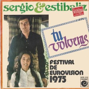 portada del disco Festival de Eurovisión 1975