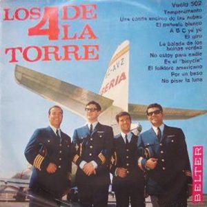 portada del disco Los 4 de la Torre