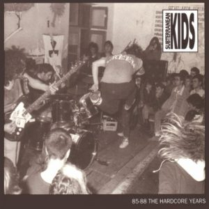 portada del disco 85/88 The Hardcore Years
