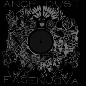 portada del disco Angel Dust / Fasenuova Split