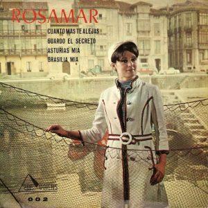 portada del disco Cuanto más Te Alejas / Guardo el Secreto / Asturias Mía / Brasilia Mía