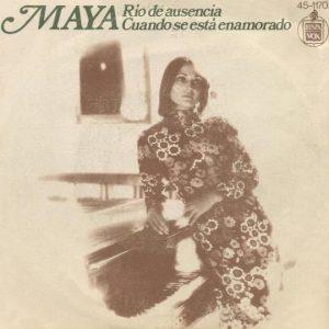 portada del disco Río de Ausencia / Cuando se Está Enamorado
