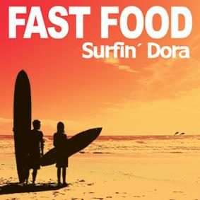 portada del disco Surfin' Dora