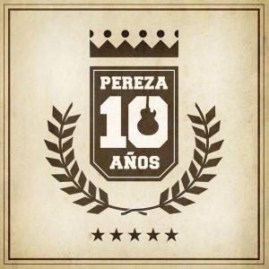 portada del disco Diez Años de Pereza