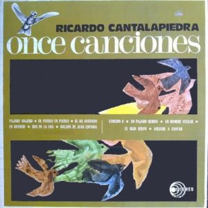 portada del disco Once Canciones