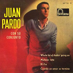 portada del disco Juan Pardo con su Conjunto