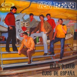 portada del disco Ojos de España / Búfalo Club