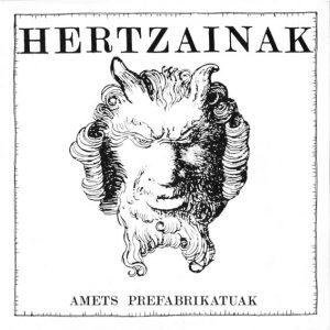 portada del disco Amets Prefabrikatuak / Bi Minutuero