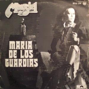 portada del disco María de los Guardias