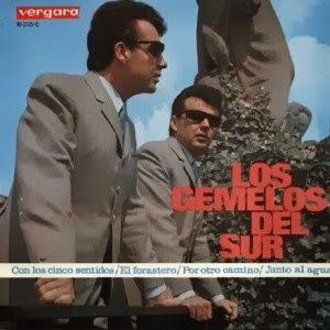 portada del disco Con los Cinco Sentidos / El Forastero / Por otro Camino / Junto al Agua