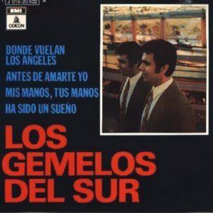 portada del disco Donde Vuelan los Ángeles / Antes de Amarte Yo / Mis Manos, Tus Manos / Ha Sido un Sueño