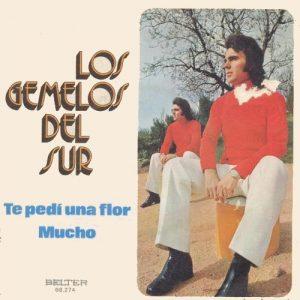 portada del disco Te Pedí una Flor