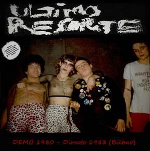 portada del disco Demo 1980 - Directo 1983 (Bilbao)