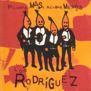 portada del disco Palabras Más, Palabras Menos