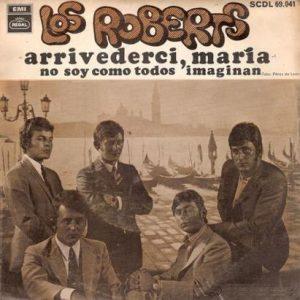 portada del disco Arrivederci María