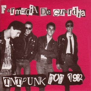 portada del disco TNT Punk Pop 1982