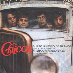 portada del disco Quiero un Poco de Tu Amor / Cuando el Viento Pasa