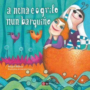 portada del disco A Nena e o Grilo Nun Barquiño
